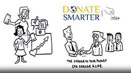 Helping DONORS with DonateSmarter